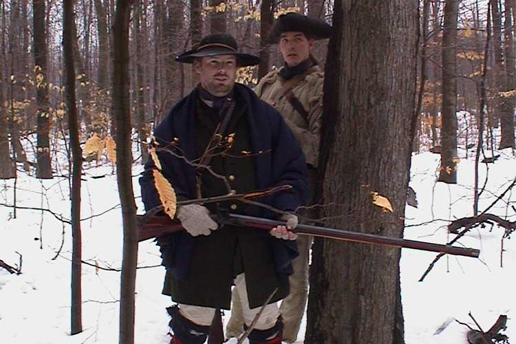 """The Ohio Company Hired """"Spies"""" And """"Rangers"""" To Protect Them From The Native Indians."""